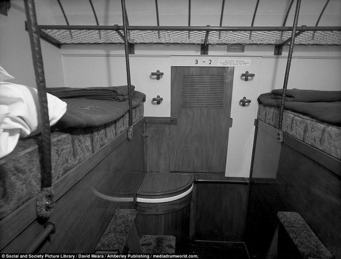 Chuyến tàu hỏa hạng sang hơn 100 năm trước ở Anh