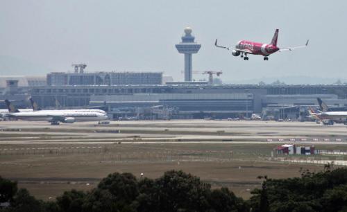 Sân bay quốc tế Changi Singapore. Ảnh: Today.
