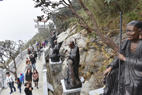 Mở cổng trời lên chốn tâm linh Fansipan - ảnh 4
