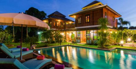 Một khu nghỉ dưỡng dành cho du khách thích khỏa thân ở Thái Lan. Ảnh: Nudist.