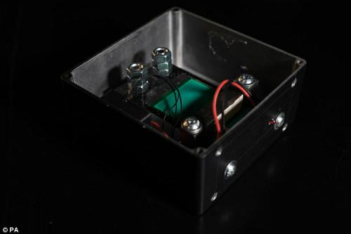 Hộp cảm biến có kích thước 188mmX188mmx67mm. Ảnh: PA.