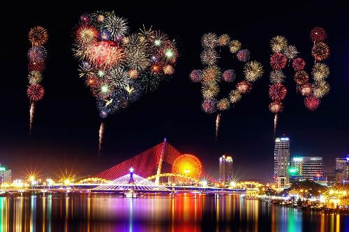 Đà Nẵng - thành phố của lễ hội pháo hoa.