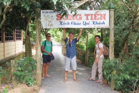 Miền Tây là điểm đến yêu thích của nhiều khách nước ngoài đến Việt Nam. Ảnh: Ngô Quang Hiệu.