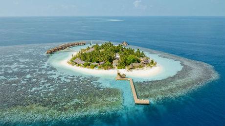 Đảo Kandolhu thuộc sở hữu Maldives. Ảnh: Kuoni.