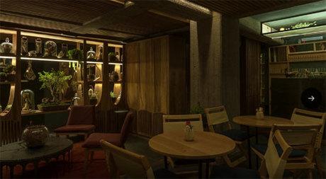 Xaman là quán bar dành cho những du khách yêu thích cảm giác mới mẻ và các fan của phim kinh dị, phù thủy và ma thuật. Ảnh: CNTraveler.