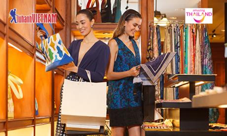 Du lịch Thái Lan  Thiên đường mua sắm của tín đồ shopping.