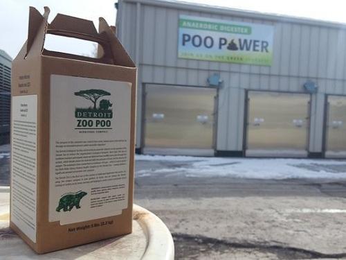 Vườn thú hy vọng hoạt động hướng dẫn tái chế chất thải hữu cơ và phân động vậtsẽgóp phần cải thiện thói quen sống xanh của người dân. Trong ảnh làphân hữu cơcủa vườn thú. Ảnh: Jake Rapanotti/Detroit Zoo.