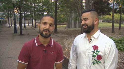Trước chuyến đi,Tahircũng được người thân và bạn bè khuyên nên cạo râu đi. Tuy nhiên, Tahir từ chối. Ảnh: CBC.
