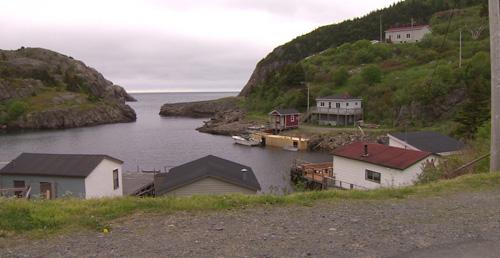 Ngôi làng ởQuidi Vidi, Canada. Ảnh: CBC.