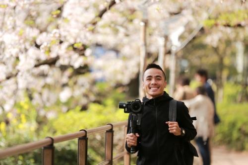 Thiết Nguyễn đã hoàn thành chuyến khám phá Tokyo - Kyoto - Osaka (Nhật Bản) đầu tháng 4 vừa rồi. Ảnh: nvcc.