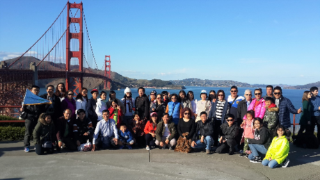 Đoàn bờ Tây Mỹ - Tặng city tour San Francisco.