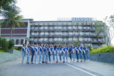 Novotel Phu Quoc Resort  Dự án Bất động sản nghỉ dưỡng tốt nhất vừa được vinh danh tại Giải thưởng Quốc gia Bất động sản Việt Nam 2018 chính là nơi mà những người đẹp hàng đầu cuộc thi Hoa hậu Biển Việt Nam Toàn cầu 2018 đang hội tụ.