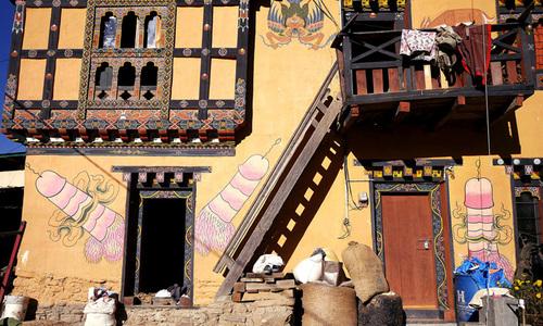 Những chiếc 'của quý' mang may mắn ở Bhutan