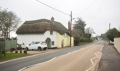 Willand nằm cách Exeter, thủ phủ hạt Devon 19 km. Ảnh: SWNS.