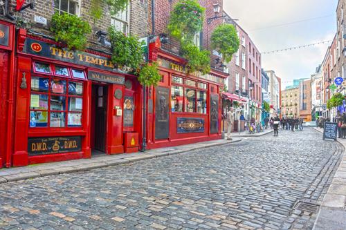 Dublin, thủ đô của Ireland.