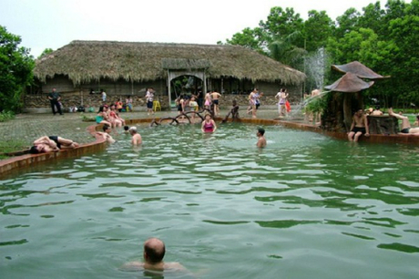 Khu nghỉ dưỡng suối khoáng nóng Thanh ThủyẢnh: hanotour.