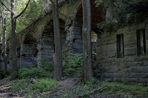 Pháo đài bị bỏ hoang trong nhiều năm. Ảnh: 95wombat/Flickr.
