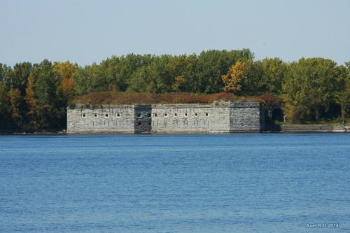 Theo Hiệp ước Webster-Ashburton năm 1842, pháo đài Montgomery chính thức nằm trong lãnh thổ của Mỹ. Ảnh: Axel Drainville/Flickr.