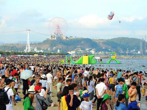 Nhiều khu du lịch thu hàng trăm tỷ đồng sau kỳ nghỉ lễ