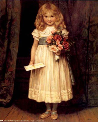 Bức tranh nổi tiếng Love Letter được treo trong khách sạn Driskill. Ảnh: Iamachild.