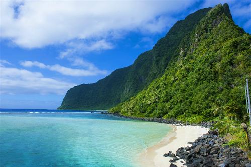 Samoa là quốc gia nằm ở Thái Bình Dương. Năm 2011, họ đã chỉnh múi giờ của mình lên sớm hơn 24 tiếng. Ảnh: