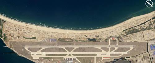 Khu nghỉ dưỡng ở bán đảo Triều Tiên đang được đẩy nhanh tốc độ xây dựng. Những hình ảnh này được vệ tinh chụp từ hồi tháng 4. Ảnh: News.