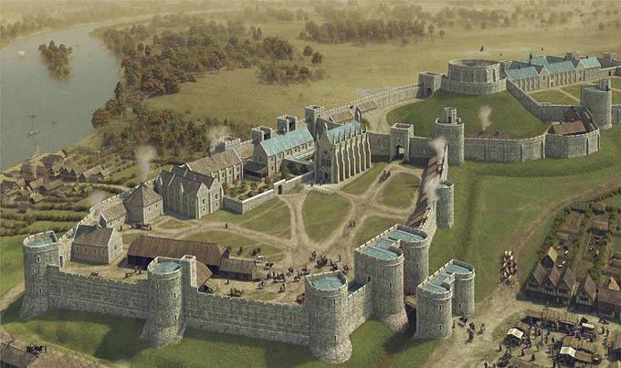 Lâu đài nơi diễn ra đám cưới hoàng tử Anh Harry - 2