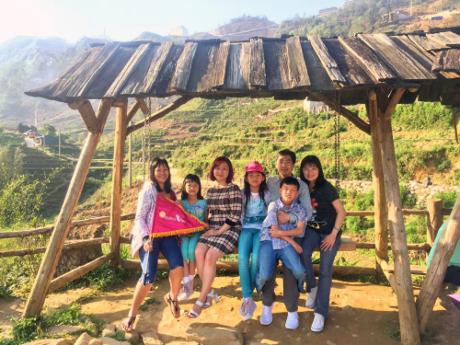 Những chuyến đi xa luôn là cơ hội để cả gia đình có khoảng thời gian bên nhau thực sự.