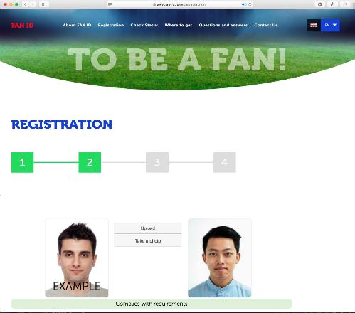 Sau khi có mã số vé, du khách chỉ cần truy cập trang chủ Fan ID và làm theo các bước hướng dẫn.