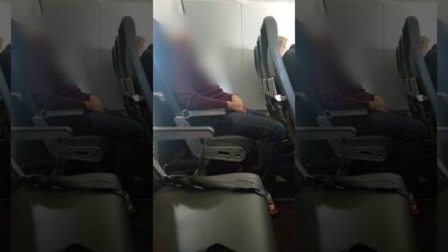 Những hành khách kháccho biết Haag (ảnh) dường như mất trí. Ảnh:Fox.