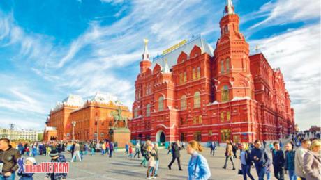 Khám phá thủ đô Moskva với những danh thắng nổi tiếng