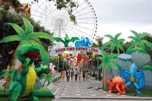 Bên trong lễ hội đèn lồng lớn nhất Đà Nẵng - ảnh 8