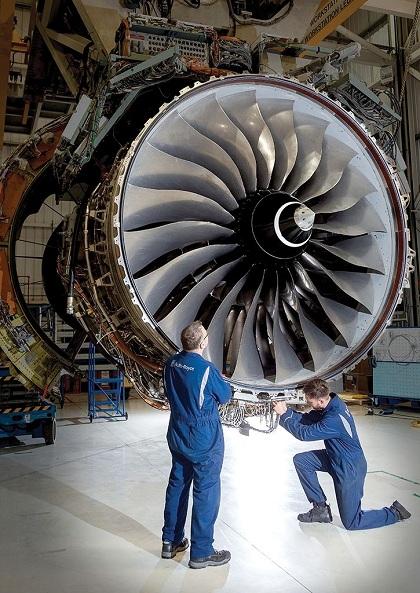 Vòng xoắn ốc luôn được in trên trục cánh quạt của động cơ ngay cả khi chưa lắp ráp vào máy bay. Ảnh: Pinterest.