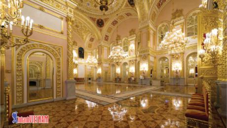Cung điện Kremlin - Biểu tượng quyền lực của nước Nga.