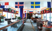 Khách sạn 5 sao ở Hà Nội trang hoàng, lắp màn hình lớn mùa World Cup