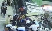 Sập trần ở khu du lịch Trung Quốc, 9 người bị thương