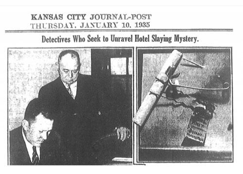Báo chí thời bấy giờ đưa tin về cái chết bí ẩn của Owen. Ảnh: Historic Mysteries.