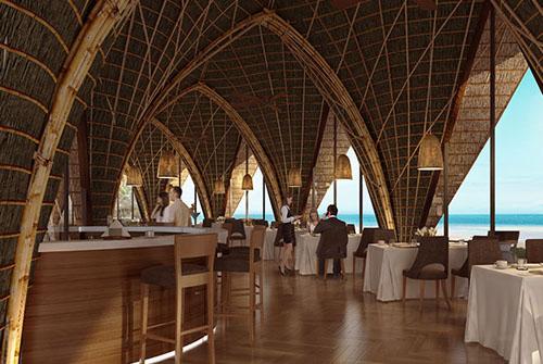 LAVA là nhà hàng phục vụ hải sản và các loại thịt ngoại nhập, mang đến những bữa tối thịnh soạn. Các món nướng trên than hay đá núi lửa được tẩm ướp công phu với các loại muối và tiêu nổi tiếng của Phú Quốc.