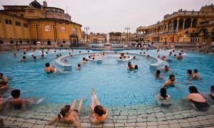 Bể tắm khoáng nóng hàng nghìn tuổi ở Budapest