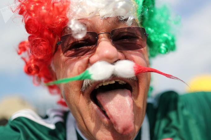 Những cổ động viên lạ mắt nhất World Cup 2018
