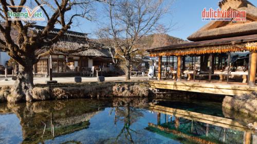 Làng cổ Oshino Hakkai.