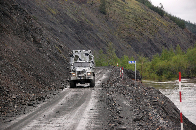 5 cung đường nguy hiểm nhất nước Nga