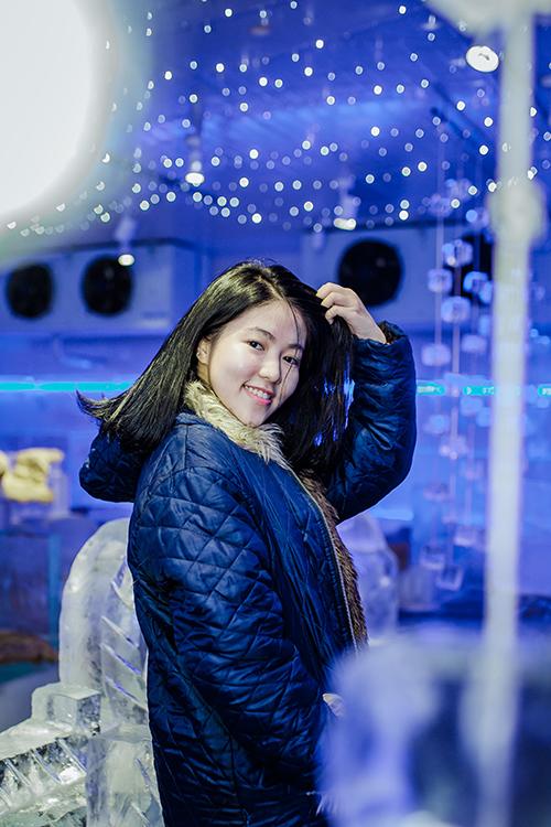 Quán cà phê băng tuyết đầu tiên ở Hà Nội