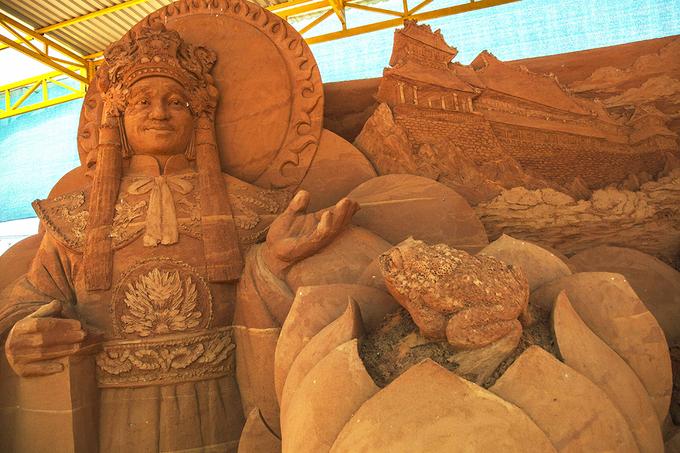 Công viên tượng cát đầu tiên trên thế giới ở Việt Nam