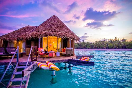 Vẻ đẹp thiên đường của Maldives.