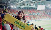 36h sống trong không khí World Cup của cô gái Việt
