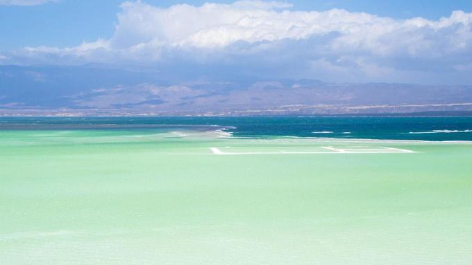 Hồ nước khiến nhiều người ảo tưởng là thiên đường