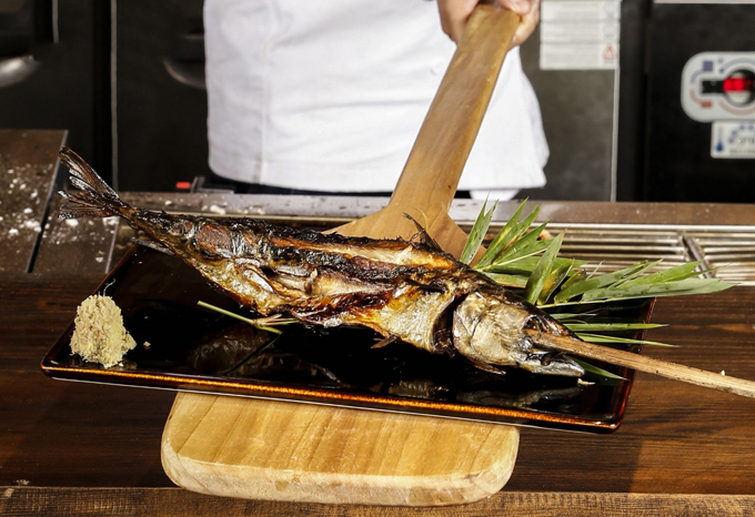 Quán nướng nhậu kiểu Nhật cổ xưa giữa lòng Sài Gòn