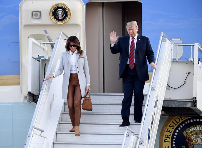 Đo độ xa hoa giữa chuyên cơ của Trump - Putin