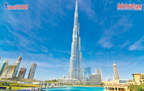 Tháp Buri Khalifa.